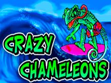 В онлайн казино на деньги Crazy Chameleons