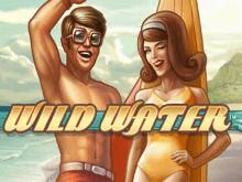 На аппарате Дикие Воды приятно играть, воображая путешествие по пляжу
