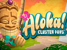 Играть онлайн в демо азартного автомата Aloha Cluster Pays